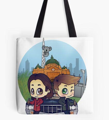 Winchesters in Melbourne Tote Bag