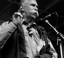 Aboriginal Speaker by Andrew  Makowiecki