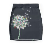 Rainbow Dandelion Pencil Skirt