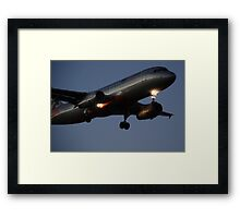 Low fares coming down Framed Print