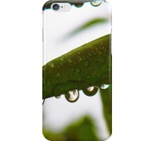 water drops 3 iPhone Case/Skin