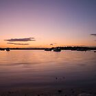 Purple dusk by Ian Middleton