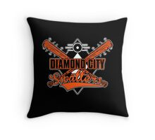 DC Swatters Throw Pillow