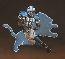 Barry Sanders Lions by seizethejay
