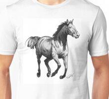 Horse Running Unisex T-Shirt