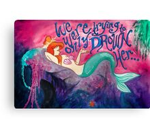 Mermaid Lagoon Canvas Print