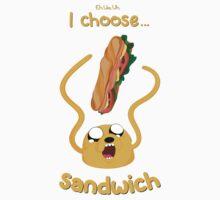 I Choose Sandwich Kids Clothes