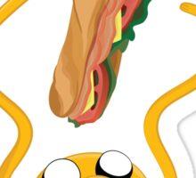 I Choose Sandwich Sticker