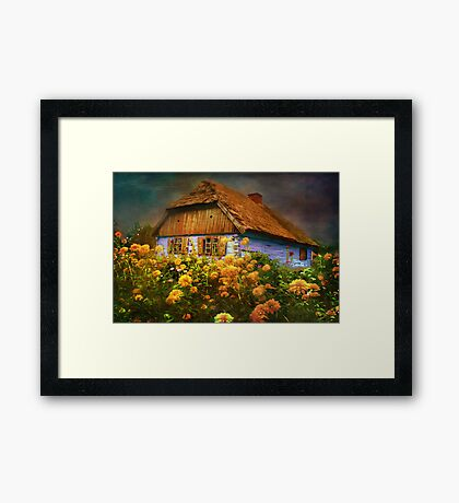 Museum of the Polish countryside. Sierpc.. Framed Print
