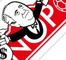 Football monopoly Sticker
