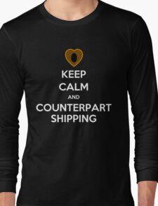 Keep Calm and Counterpartshipping Long Sleeve T-Shirt