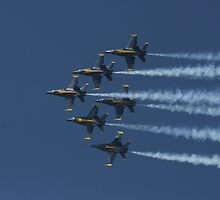 Skyward Blue Angels by fototaker