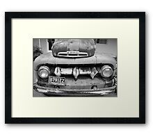 Classic Old Ford Truck Framed Print
