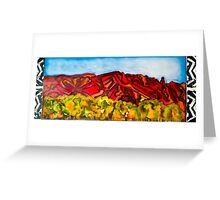 Sandia Sunset Greeting Card