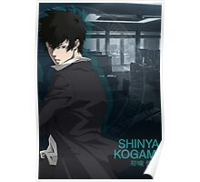 Psycho Pass - Shinya Kogami Poster