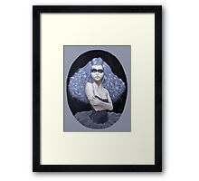 Blue Haired Thief  Framed Print