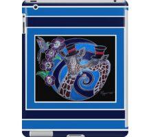 Top Hat Giraffes iPad Case/Skin