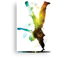 Break Dancer Canvas Print