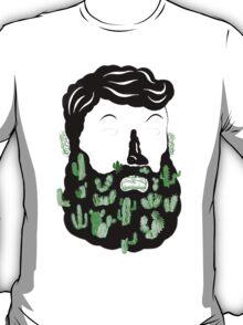 Cactus Beard Dude T-Shirt