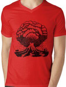 Volcano Mens V-Neck T-Shirt