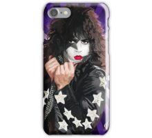 Kiss Paul Stanley vector pop art iPhone Case/Skin