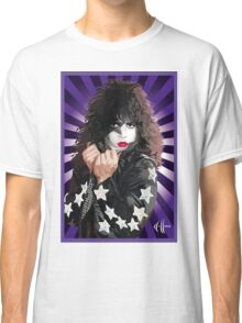 Kiss Paul Stanley vector pop art Classic T-Shirt