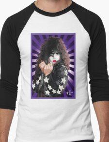 Kiss Paul Stanley vector pop art Men's Baseball ¾ T-Shirt