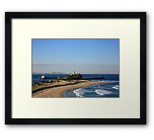 View To Nine Mile Beach Framed Print