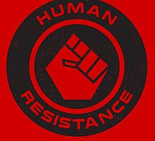 Human Resistance All Black by marslegarde