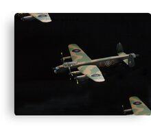 Lancaster.....close company........! Canvas Print