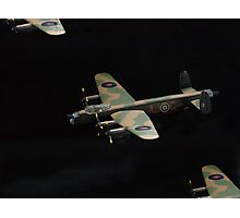 Lancaster.....close company........! Photographic Print