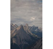 Banf Peaks Photographic Print