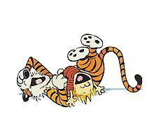 Calvin and Hobbes ROTFL Photographic Print