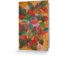 In the leaves Greeting Card