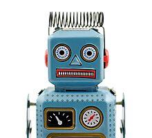 Robot Portrait 1 Photographic Print