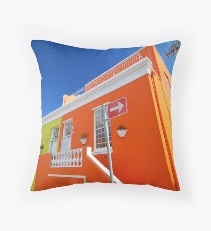 Cape Town Architecture Throw Pillow