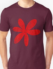 Pretty Flower - Red T-Shirt