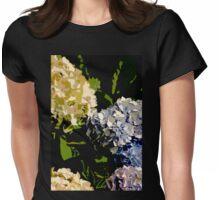 Harmonious Hydrangeas Womens Fitted T-Shirt
