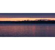 Cold Water Sunset Photographic Print