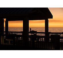 Contrast Sunset Photographic Print