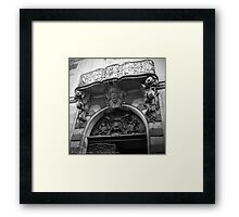 Paris, France - The Eye of the Beholder Framed Print