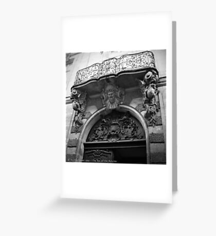 Paris, France - The Eye of the Beholder Greeting Card