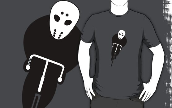 Sinister Cyclist by Mike Sullivan