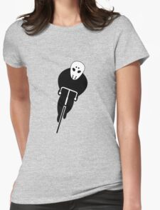 Sinister Cyclist Womens Fitted T-Shirt