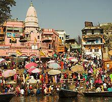 Varanasi and the Ganges, India by Hugh Chaffey-Millar