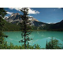 Emerald lake Photographic Print