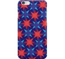 USA stars in a stripe - Red, White and Blue iPhone Case/Skin