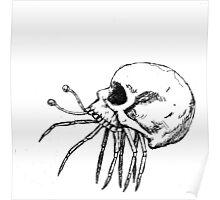 Skull Crab Poster
