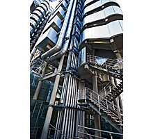 Lloyd's Building detail Photographic Print