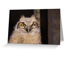 Fuzzy Wuzzy Greeting Card